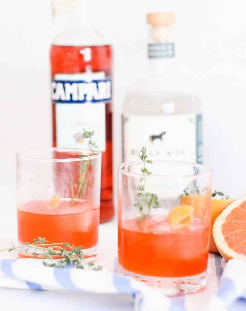 Grapefruit Thyme Negroni The Northern Magnolia