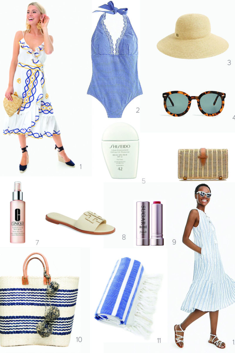 Memorial Day Weekend Packing List