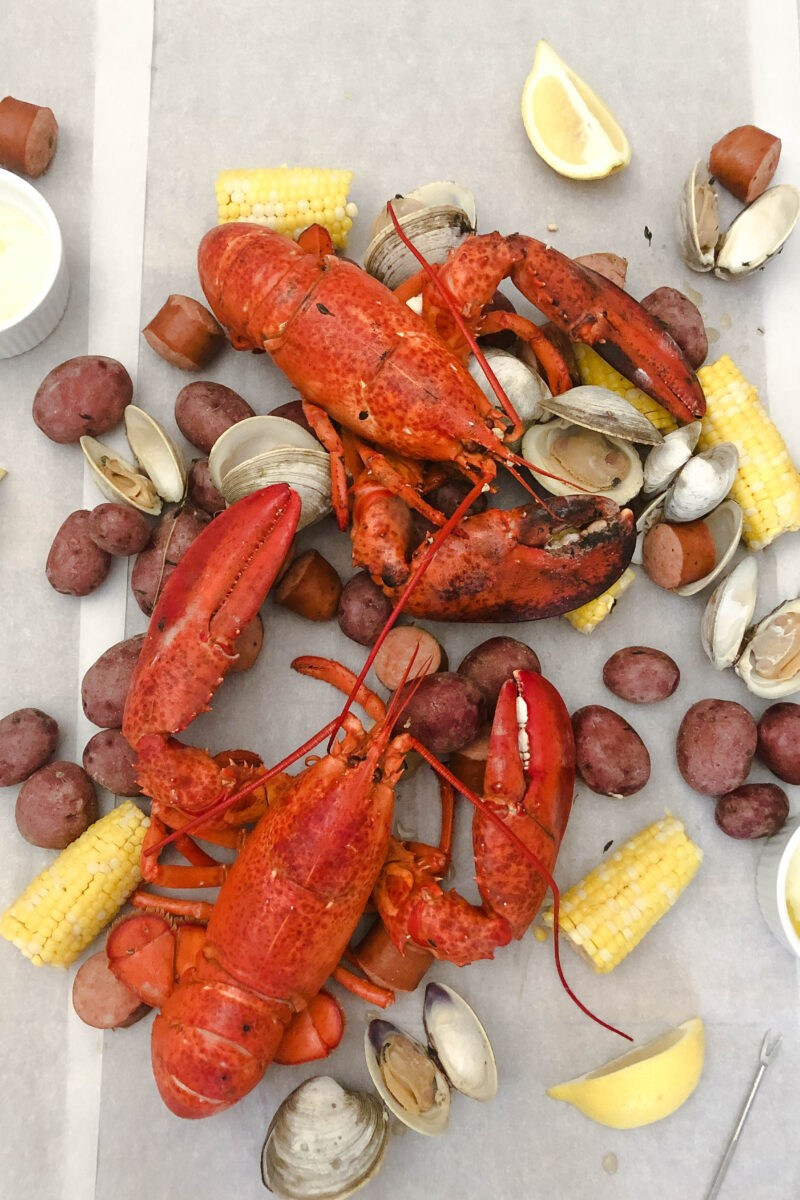 New England Lobster Bake Featured Image