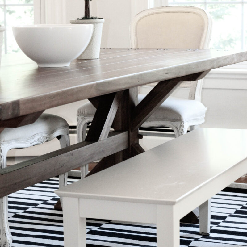 Black and White Dining Room Rug Featured Image